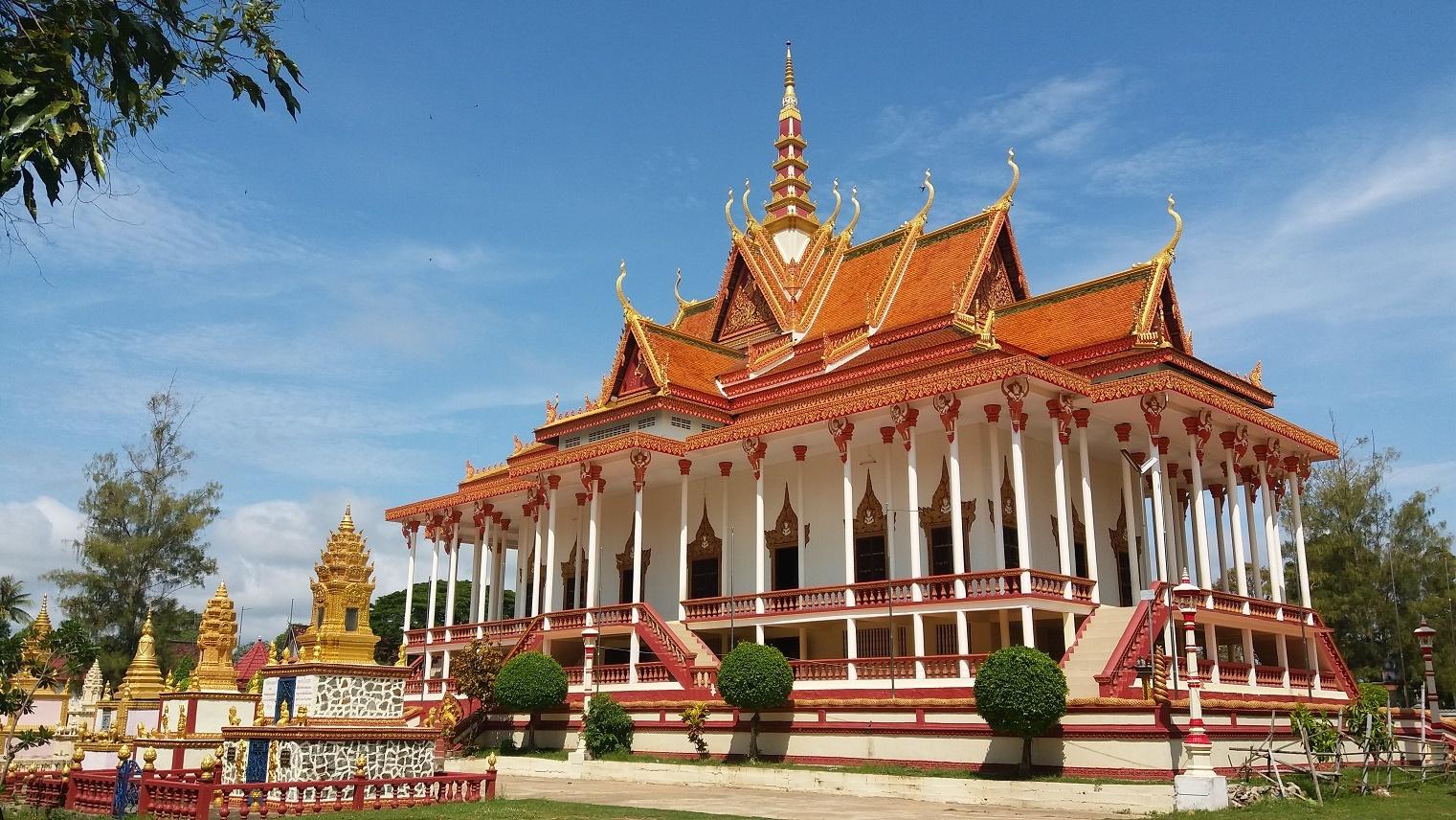 Chrám sta pilířů Kambodža